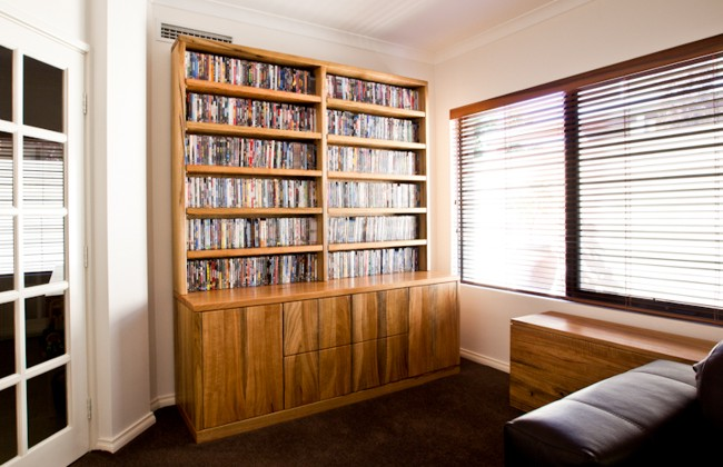 Bookcase by Peter Walker Furniture, Perth