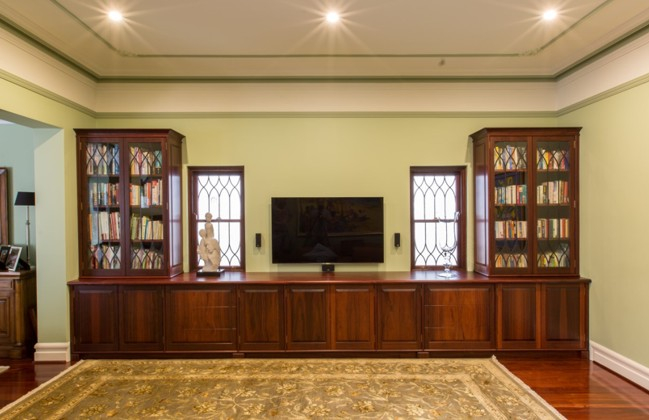 Jarrah cabinet - Peter Walker Furniture Perth