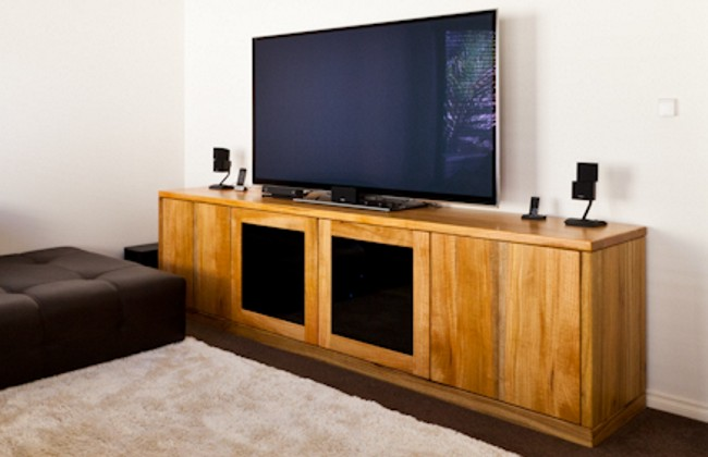 Home theatre tv cabinet by Peter Walker Furniture, Perth